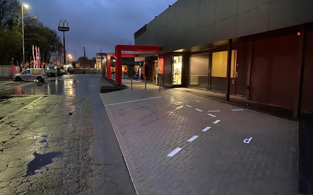 Terreininrichting KFC Oosterhout